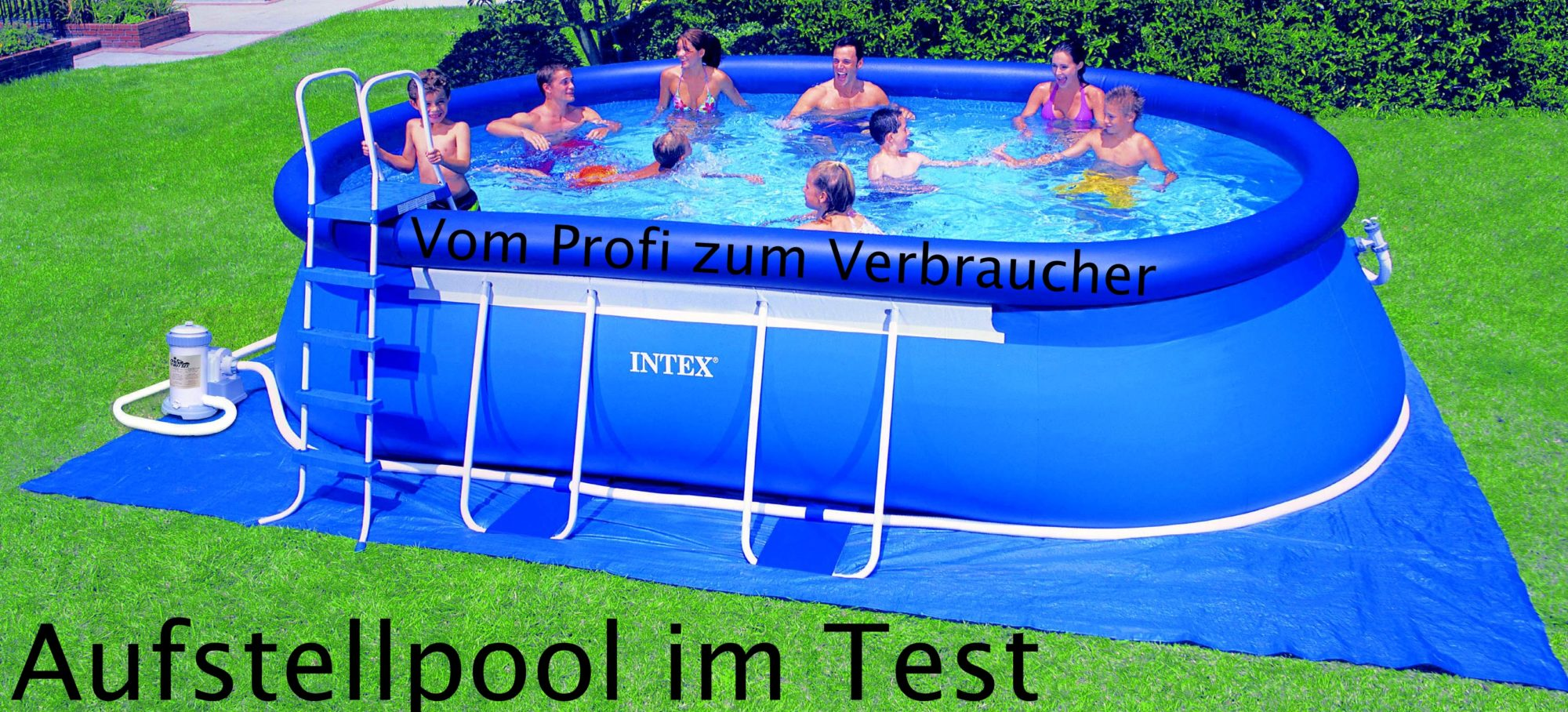 intex aufstellpool frame pool set rondo testbericht. Black Bedroom Furniture Sets. Home Design Ideas